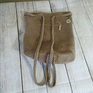 The Sak Backpack Purse Brown
